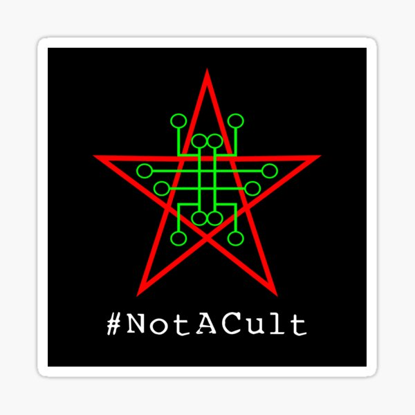 Not A Cult v2 Sticker