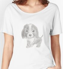 Precious Puppy Women's Relaxed Fit T-Shirt