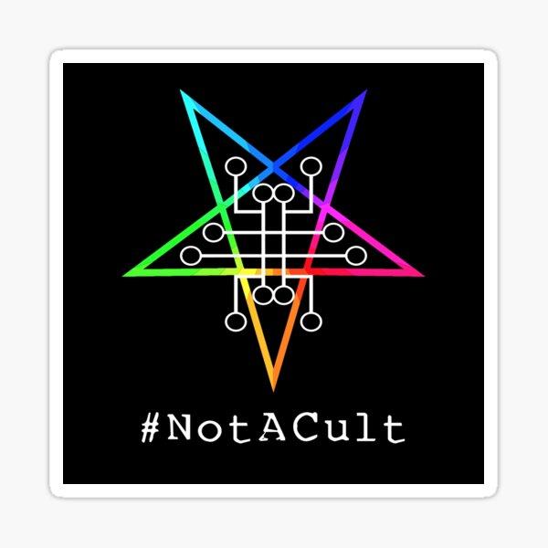 Not A Cult v3 Sticker