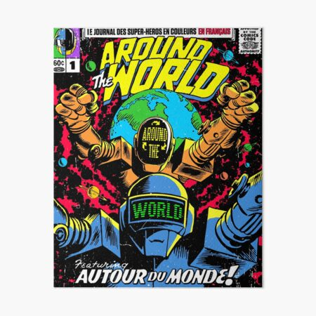 The World Art Board Print