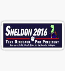 Sheldon 2016 (Navy) Sticker