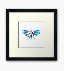Zelda Triforce Framed Print