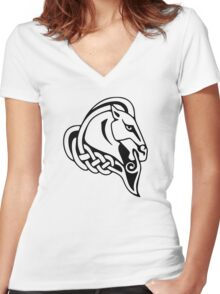 Whiterun Women's Fitted V-Neck T-Shirt