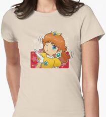 Princess Daisy - Blow Kiss Women's Fitted T-Shirt