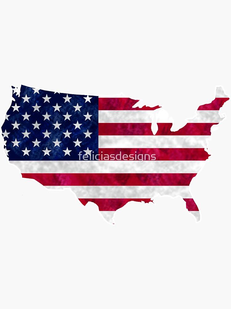 Amerika von feliciasdesigns