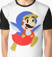 Little Penguin Mario Graphic T-Shirt
