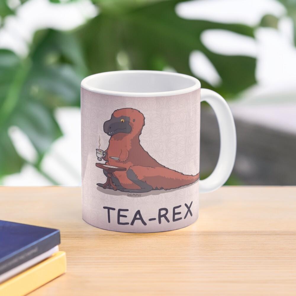 Fluffy Tea-Rex Mug
