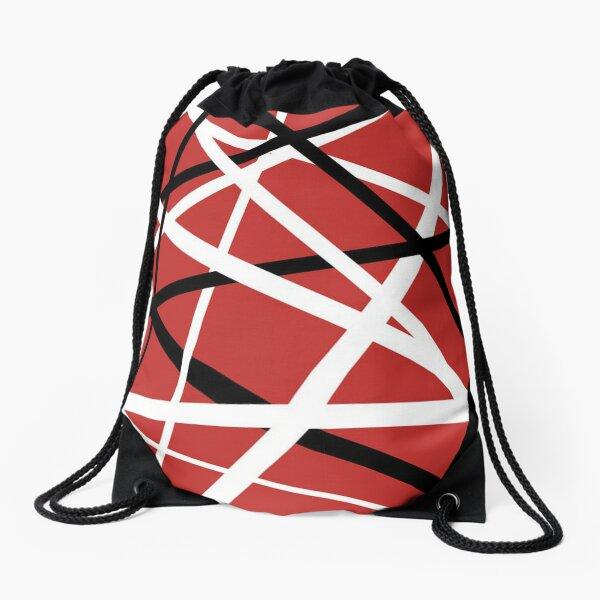 Red Arrival Drawstring Bag