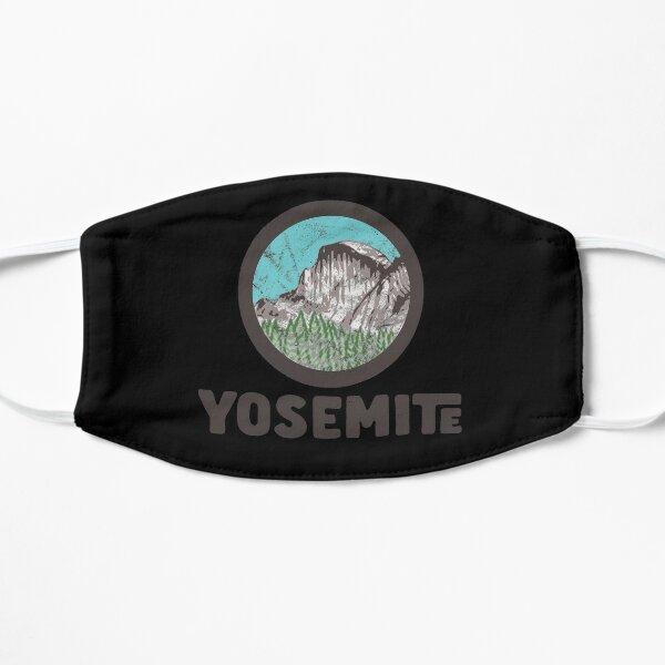 Half Dome Retro Yosemite ational Park Mountain Graphic nice design Flat Mask