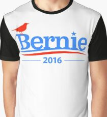 Bernie Sanders Bird Shirt - President 2016 Peace Feel the Bern  Graphic T-Shirt