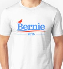 Bernie Sanders Bird Shirt - President 2016 Peace Feel the Bern  Unisex T-Shirt