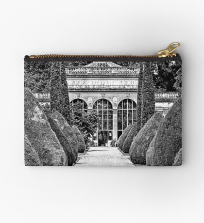 Path to the Orangery  Zipper Pouch