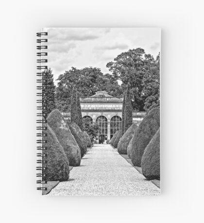 Path to the Orangery  Spiral Notebook