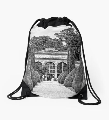 Path to the Orangery  Drawstring Bag