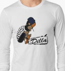 J Dilla - Today In Hip Hop History Long Sleeve T-Shirt