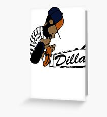 J Dilla - Today In Hip Hop History Greeting Card
