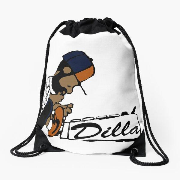 J Dilla - Today In Hip Hop History Drawstring Bag