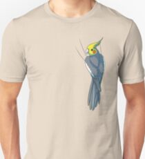 Normal Gray Cockatiel Unisex T-Shirt
