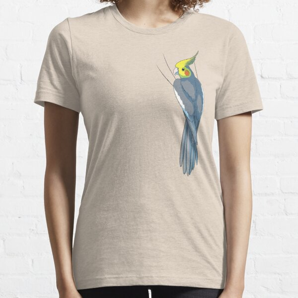 Normal Gray Cockatiel Essential T-Shirt