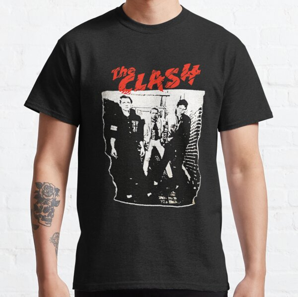 Camiseta The Clash Group Band Camiseta clásica