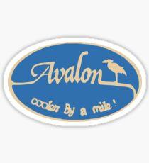 Avalon - New Jersey. Sticker