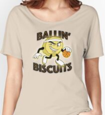 Ballin' Biscuits Women's Relaxed Fit T-Shirt