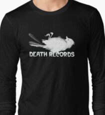 Death Records Label Long Sleeve T-Shirt