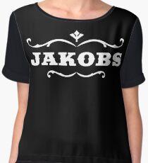 Jakobs White Chiffon Top