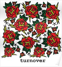 Turnover Florals Poster