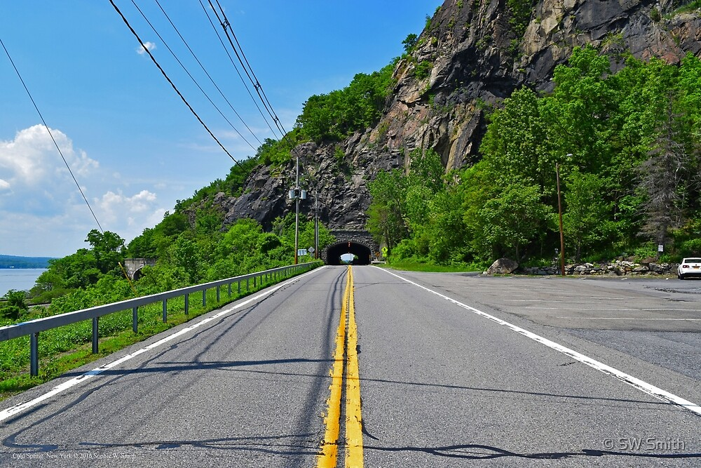 Tunnel Under The Breakneck Point By Hudson River | Cold Spring, New York by © Sophie W. Smith