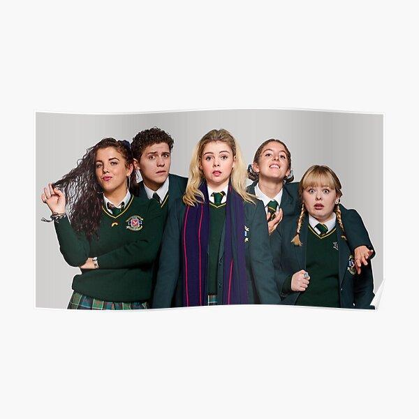 Derry Girls, TV Show, Netflix Poster
