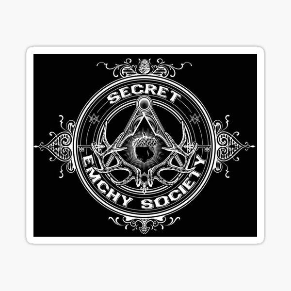 Secret Emchy Society - Classic Logo Sticker