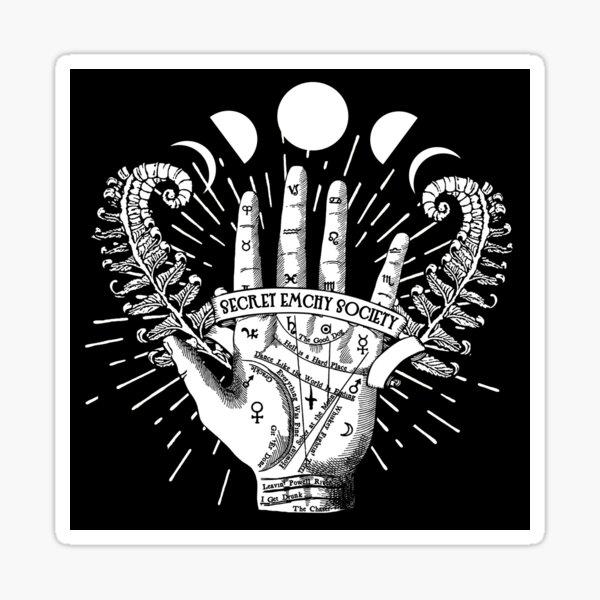 Secret Emchy Society - Fortune Telling Ferns Sticker