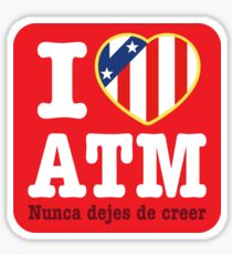 I Love Atleti Sticker