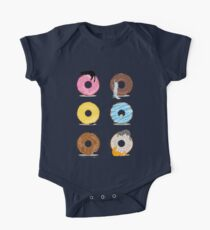 Cats and Doughnuts One Piece - Short Sleeve