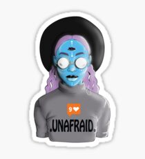 Be Unafraid  Sticker