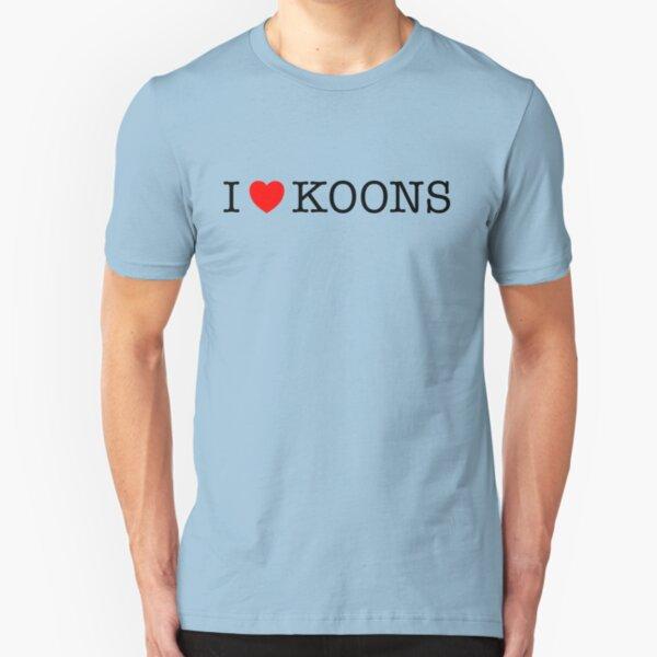 I Love Koons Slim Fit T-Shirt