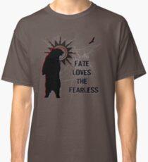 """Fate Loves the Fearless"" - Spirit Bear & Spirit Eagle Silhouette Classic ..."