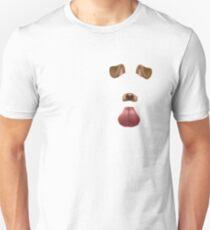 Snapchat dog filter T-Shirt