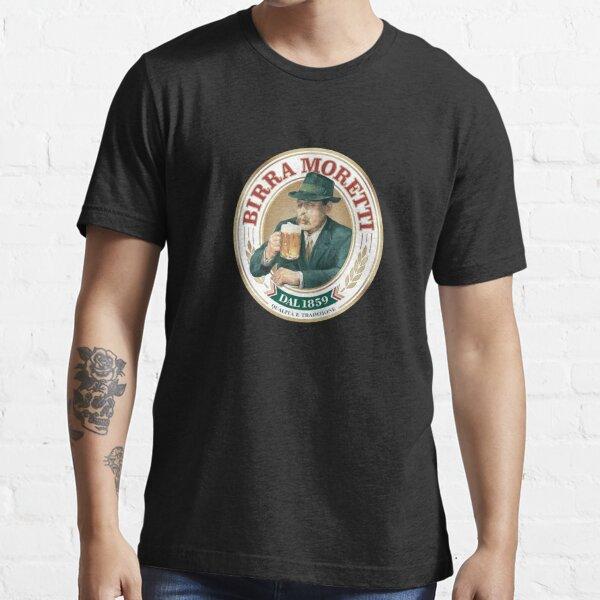 Classy Birra Moretti Logo Essential T-Shirt