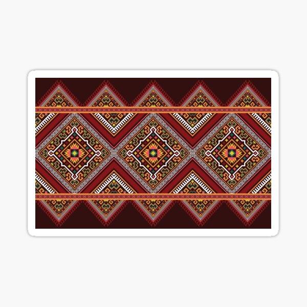 Oriental ethnic pattern traditional background  Sticker