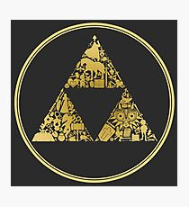 Triforce Photographic Print