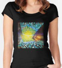 Warp to Year 650 Billion Women's Fitted Scoop T-Shirt