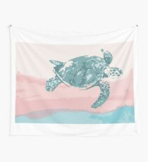 Pastel Turtle Wall Tapestry