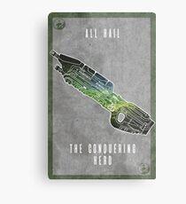Halo 5 Chief Metal Print