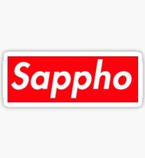 Sappho Supreme Logo  Sticker