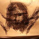 JC Head sketch -(290515)- Black Biro Pen/A4 sketchbook by paulramnora
