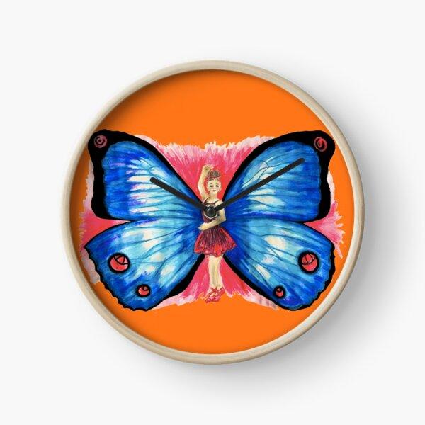 Butterfly Ballerina Clock