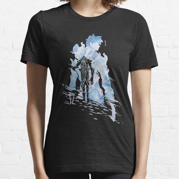 Arrivée de Jin Woo: chemise de nivellement solo T-shirt essentiel