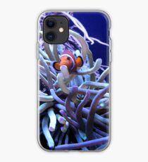 Clown Fish Anemone iPhone Case